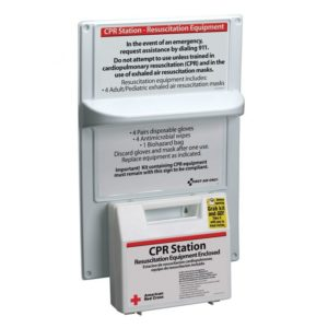 American Red Cross CPR Station