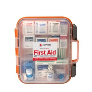 American Red Cross Clear Cover 50 Person ANSI A First Aid Kit