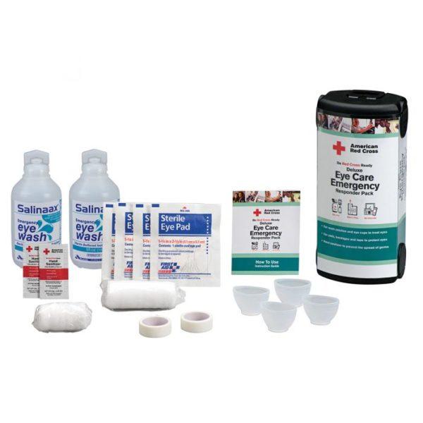 American Red Cross Deluxe Eye Care Emergency Responder Pack