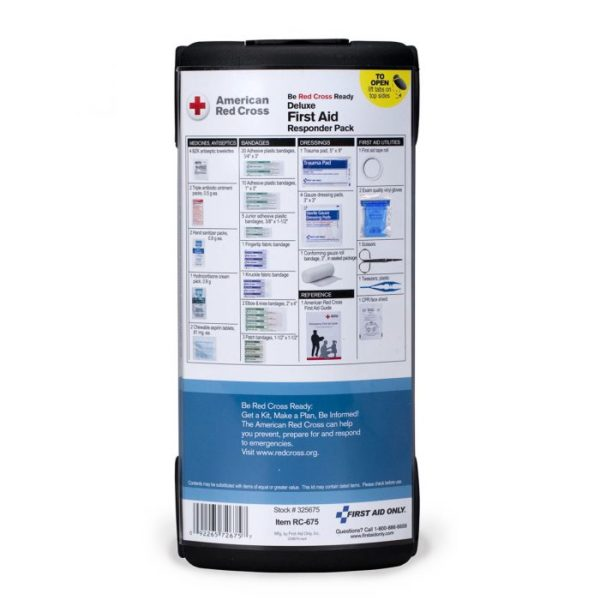 American Red Cross Deluxe First Aid Responder Pack