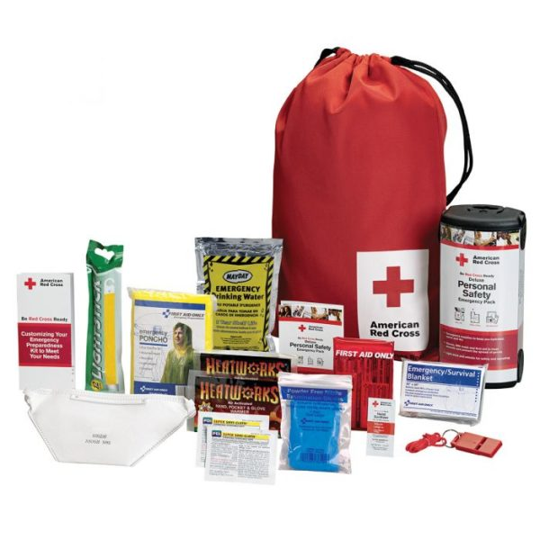 American Red Cross Deluxe Personal Safety Emergency Pack
