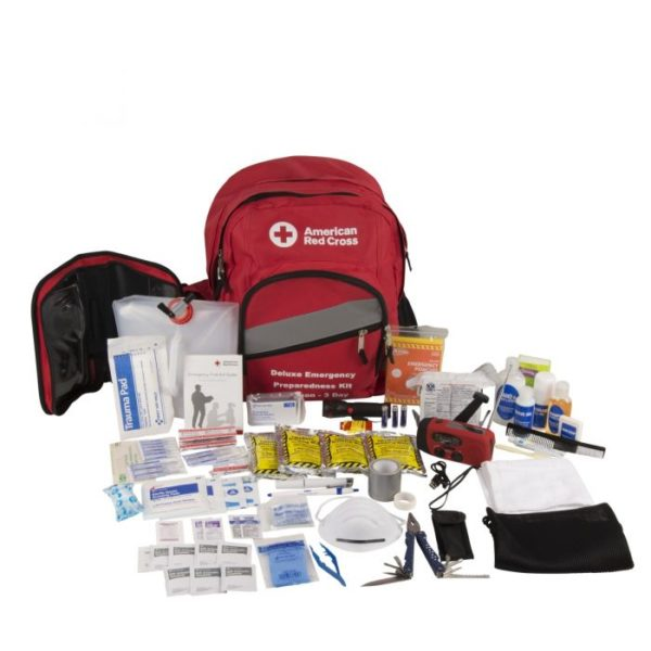 American Red Cross Emergency Preparedness Deluxe 3-Day Backpack