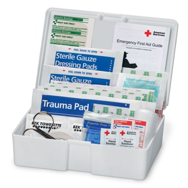 American Red Cross Family First Aid Plastic Kit